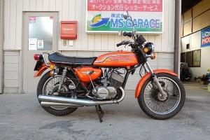 昭和47年 KAWASAKI 500SSマッハIII ご成約有難う御座いました!